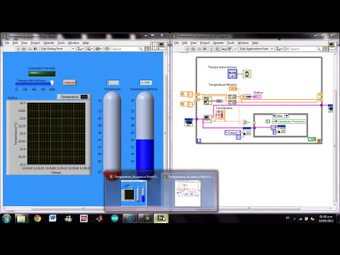 Control de Temperatura con Arduino y Labview