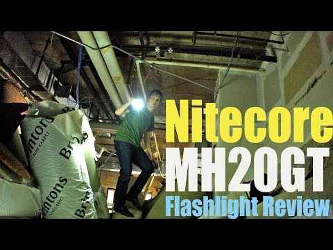 Nitecore MH20GT Flashlight Review- With comparisons to the ...