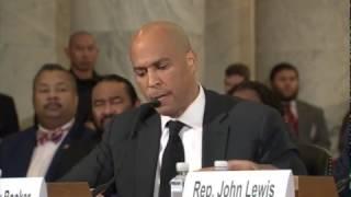 FULL: Senator Cory Booker testifies against Senator Jeff Sessions