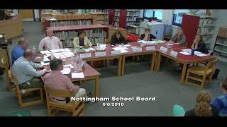 School Board Meeting 6/6/2018