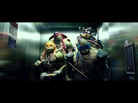 【忍者龜:變種世代】電影片段-電梯篇-全台現正熱映中