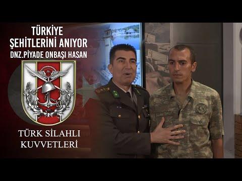 Türkiye Şehitlerini Anıyor - Deniz Piyade Onbaşı Hasan DUTLU