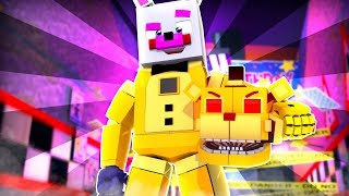 Funtime Freddy Becomes Golden Freddy ?! | Minecraft FNAF Roleplay