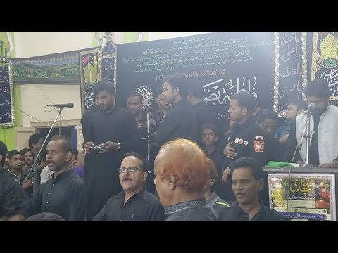 """Shabbedari """"Sakina Bint-ul-Hussain S.a"""" Doshipura Matamdari """"Anjuman-e-Muhafiz-e-Aza"""" Ramnagar"""