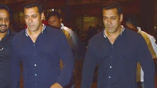 Salman Khan is back in Mumbai after wrapping up Tubelight