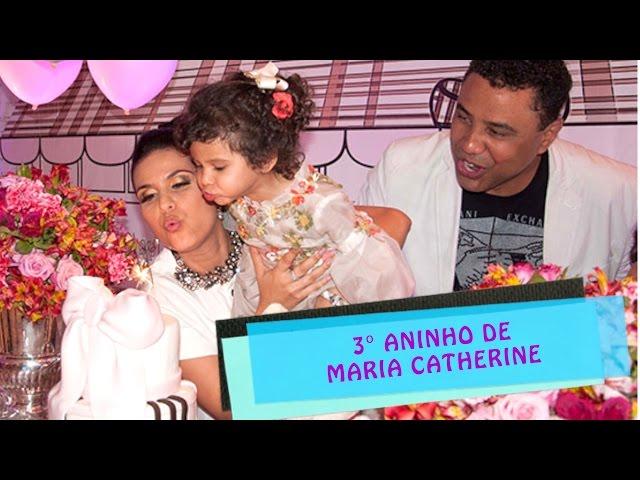 Aniversário Maria Catherine - 3 anos