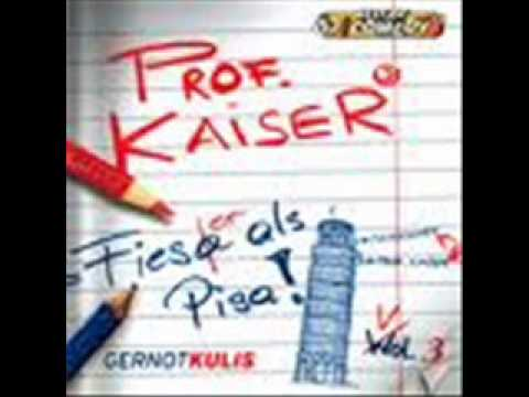 3 Prof. Kaiser Sex and the City