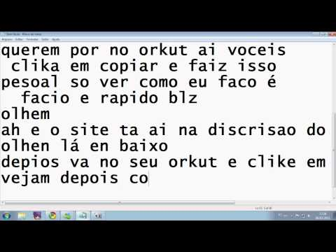 Como Colocar Musica No Orkut video