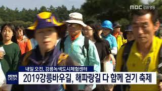 2019강릉바우길, 해파랑길 다 함께 걷기 축제