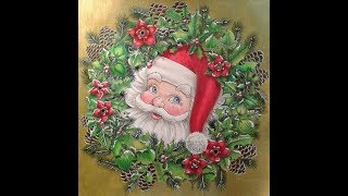 A Christmas Coloring Collection - A Seasonal Exhibition at the Coloring Gallery!