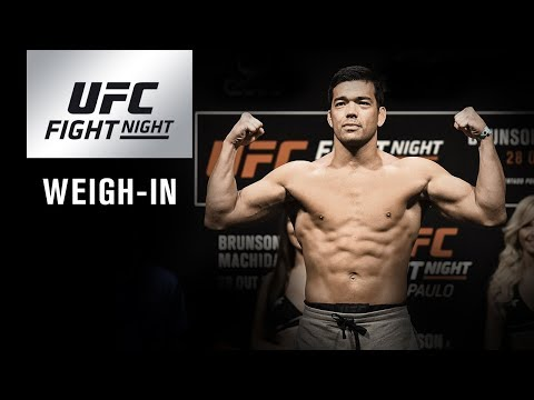 UFC Fight Night Belem: Official Weigh-in