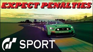 GT Sport Expect Penalties - Le Mans Daily Race C