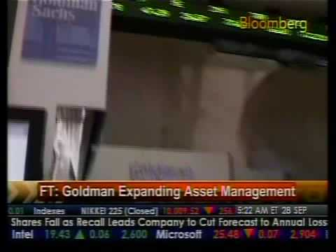 Goldman Expands Asset Management