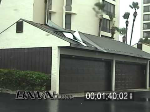 Hurricane Frances Video, Fort Pierce, FL and Hutchinson Island, FL Part 9