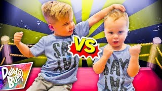 Big Brother Vs. Little Brother Challenge!