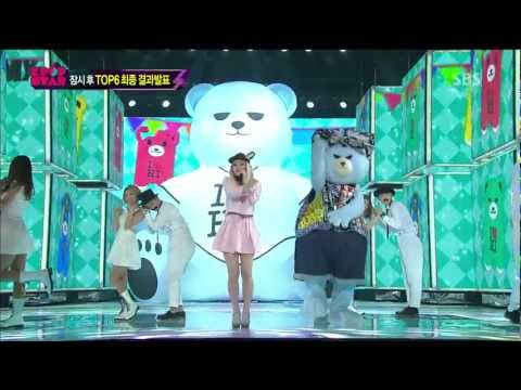 LEE HI (이하이) - IT'S OVER Comeback Stage @ SBS KpopStar2
