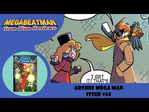 Mega Man #54 - A Let's Review by Megabeatman