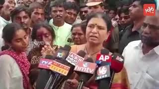 Telangana Congress Leader DK Aruna Fires on TRS Leaders | CM KCR | Gadwal News