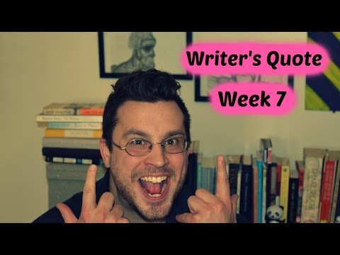 Writer's Quote of The Week (Week 7) - Stripped Cover Lit
