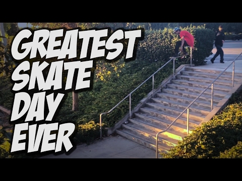 GREATEST SKATE DAY EVER Feat. VINNIE BANH & CARLOS LASTRA !!! - A DAY WITH NKA -