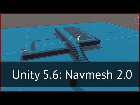 Unity 5.6: Новая система навигации (Navmesh, обзор и туториал)