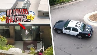 THE NEIGHBORS CALLED THE COPS ON ME FOR THIS... (they showed up)