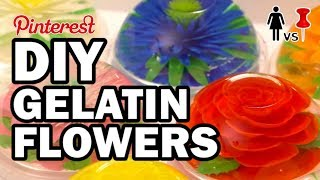 🌼 DIY Gelatin Flowers, Corinne VS Cooking