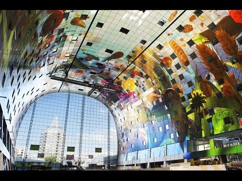 """""""Markthal Rotterdam"""" """"Dutch Royal Queen Maxima of the Netherlands"""""""