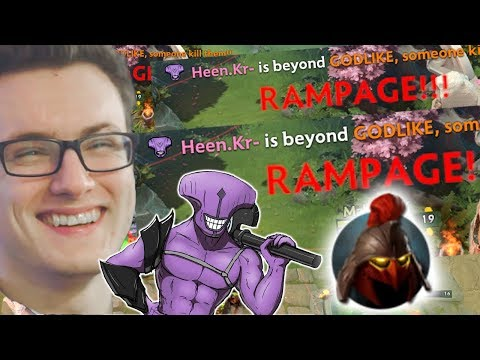 Miracle- Faceless Void RAMPAGE ULTRAKILL Every Where Dota 2