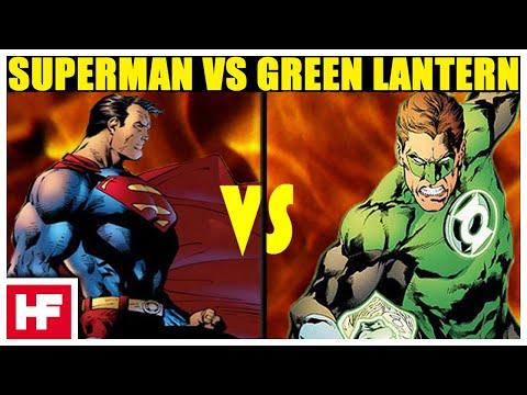 Superman vs green lantern - photo#7
