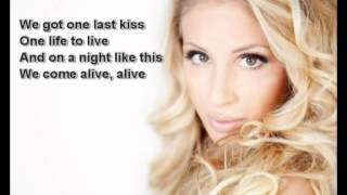 Irina-one last kiss (with lyrics)