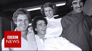 C-3PO Anthony Daniels: Carrie Fisher was 'a joy' - BBC News