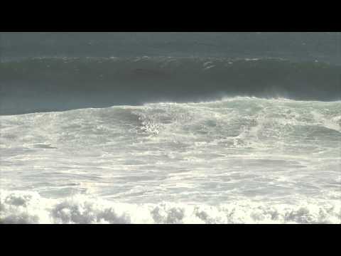 Oleaje alto en Calafia Baja California 082714