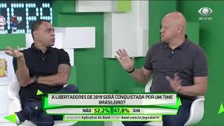 Comentarista cravam final da Copa Libertadores 2019