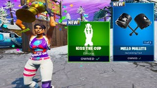 The New WORLD CUP EMOTE + MARSHMELLO *NEW* Items! (Fortnite Battle Royale)