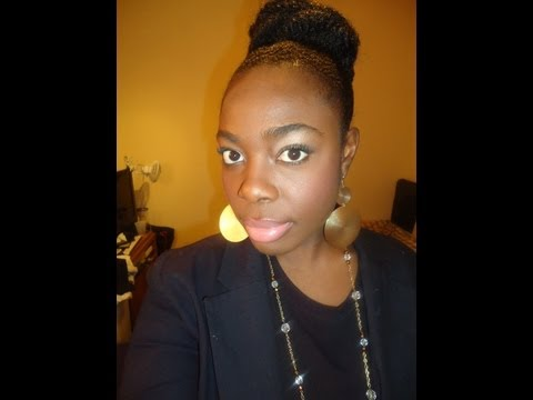 121  High Bun with Marley Hair Tutorial by Jenell Stewart