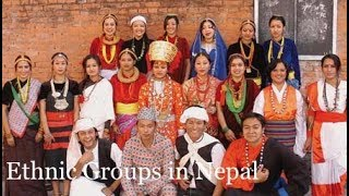 Ethnic Groups in Nepal.