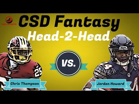 Fantasy Football 2018 - Week 3 Head 2 Head Chris Thompson vs. Jordan Howard