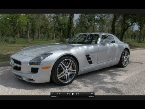 Test Drive The Mercedes-Benz SLS AMG w/ In Depth Review