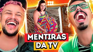 AS 10 MAIORES MENTIRAS DA TV | Diva Depressão