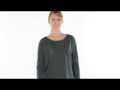 Lilla P Oversized Whisper-Weight Shirt - Pima Cotton, Long Sleeve (For Women)