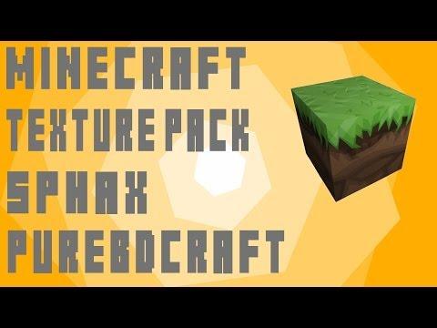 Minecraft Sphax PureBDCraft Texture Pack 1.7.10