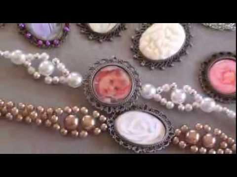 Fabriquer des bijoux retro youtube - Fabriquer un presentoir a bijoux ...