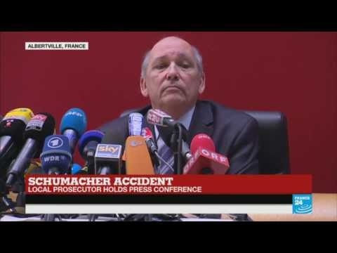 Michael Schumacher skiing accident: Press conference of Albertville's prosecutor