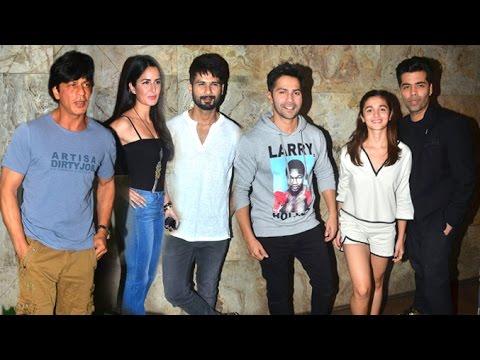 Udta Punjab GRAND Screening | Shahrukh Khan,Katrina Kaif,Shahid,Alia,Varun,Karan