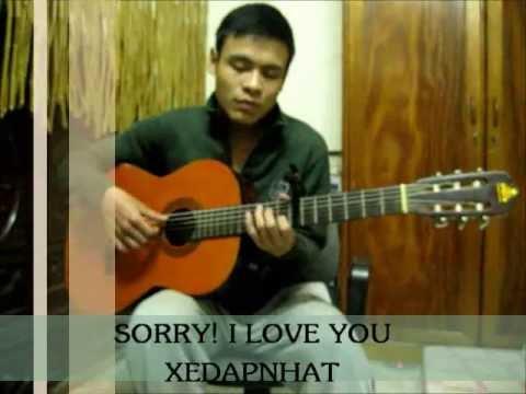 Xin Lỗi, Anh Yêu Em(sorry I Love U) Guitar-themanh video