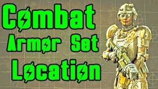 Fallout 4: How to get Full Combat Armor (READ DESCRIPTION!) Location Guide