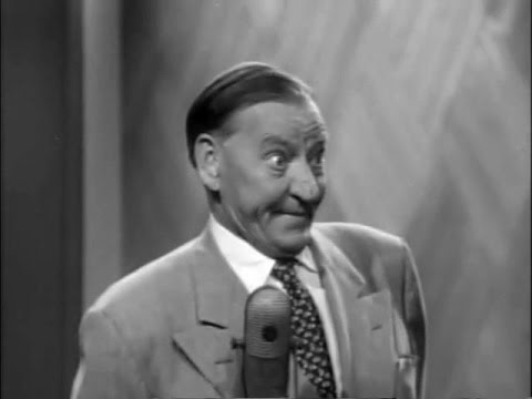 Groucho disturbed by crazy eyed guest - Rare clip from You Bet Your Life (May 12, 1955)