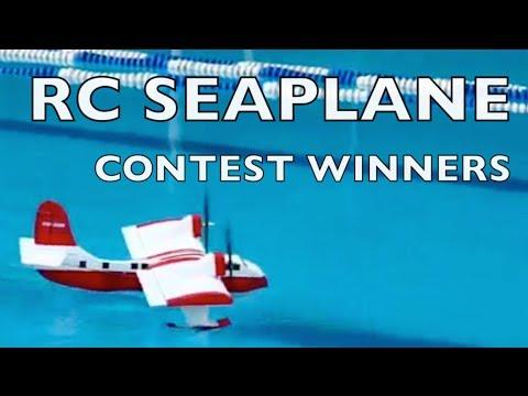 SCRATCHBUILT SEAPLANE CONTEST WINNERS