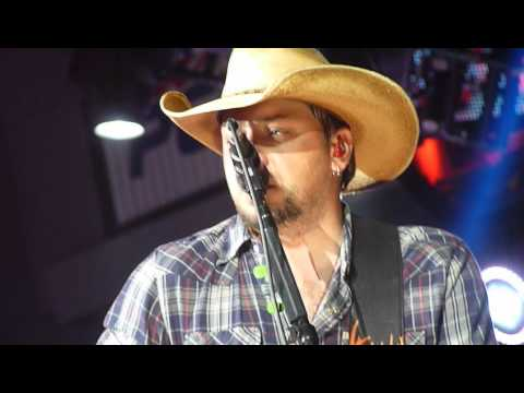 Jason Aldean tattoos On This Town Moline, Il 5 11 12 video